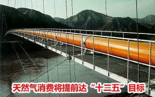 """天然气消费将提前达""""十二五""""目标"""